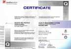 Certificat ISO :: ISO Sotrafer Certificate